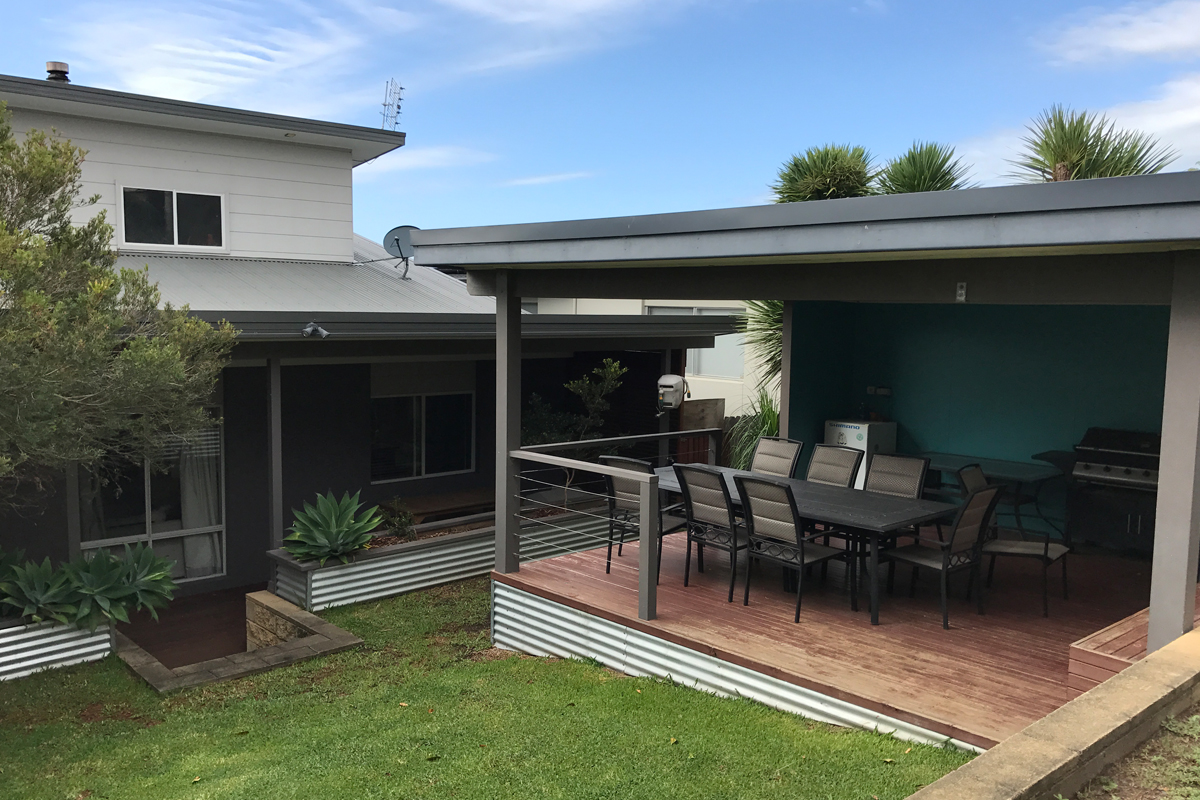 Exterior Renovation & Decking